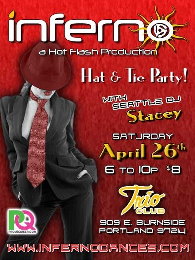 Portland INFERNO Hat and Tie Party
