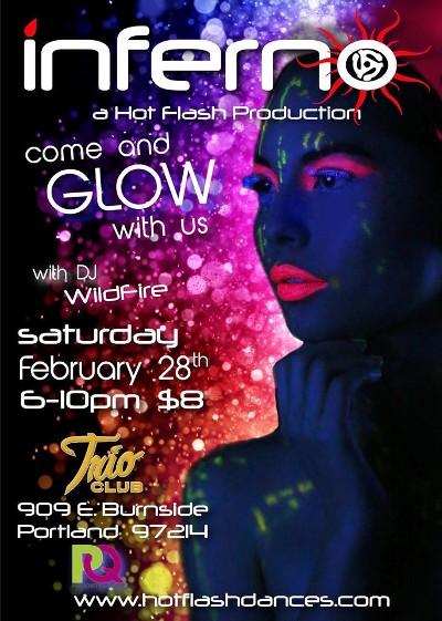 Portland INFERNO Glow Party